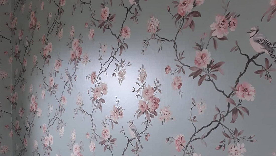Wallpapering Image